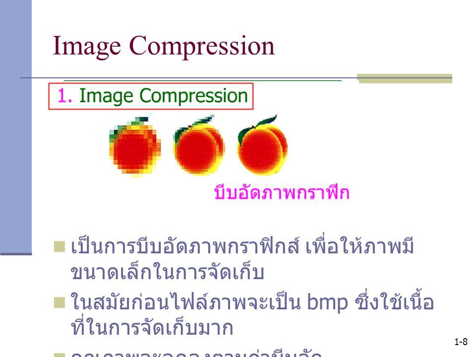 1-9 Image Compression