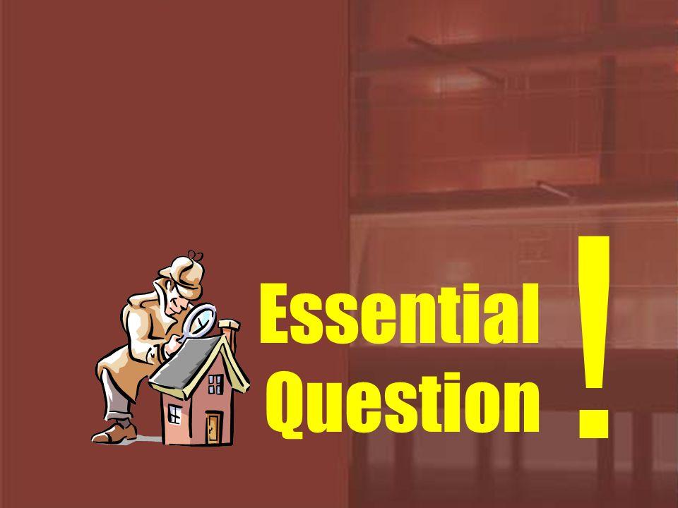 เป็นคำถามนำที่ทำให้ผู้เรียนเกิด การสืบค้นคำตอบ เป็นคำถามที่สร้างขึ้นเพื่อค้นหา ความหมายที่ลึกซึ้ง เกิน กว่าเป็นเพียงคำถาม ช่วยให้ผู้เรียนเข้าใจระบบ โครงสร้างของสิ่งต่าง ๆ ที่ซับซ้อนได้ดียิ่งขึ้น เป็นคำถามหลักที่ช่วยให้เกิดการ มุ่งประเด็นสำคัญ ไปที่ การเรียนรู้