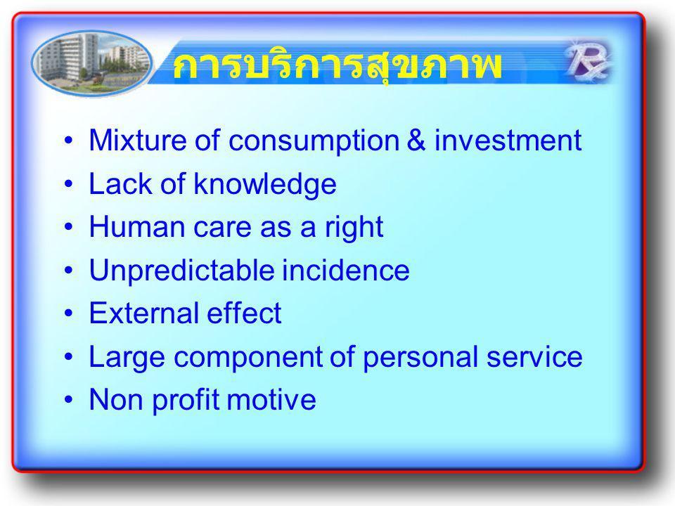 การสร้างความสัมพันธ์ใน กระบวนการบริการ การทำให้เห็นคุณค่าในการรับ บริการ การสร้างปฏิสัมพันธ์ และการมีส่วน ร่วม การสร้างความเชื่อใจ ใช้บริการซ้ำ ผู้รับบริการมีส่วนร่วมในการพัฒนา ระบบการบริการ