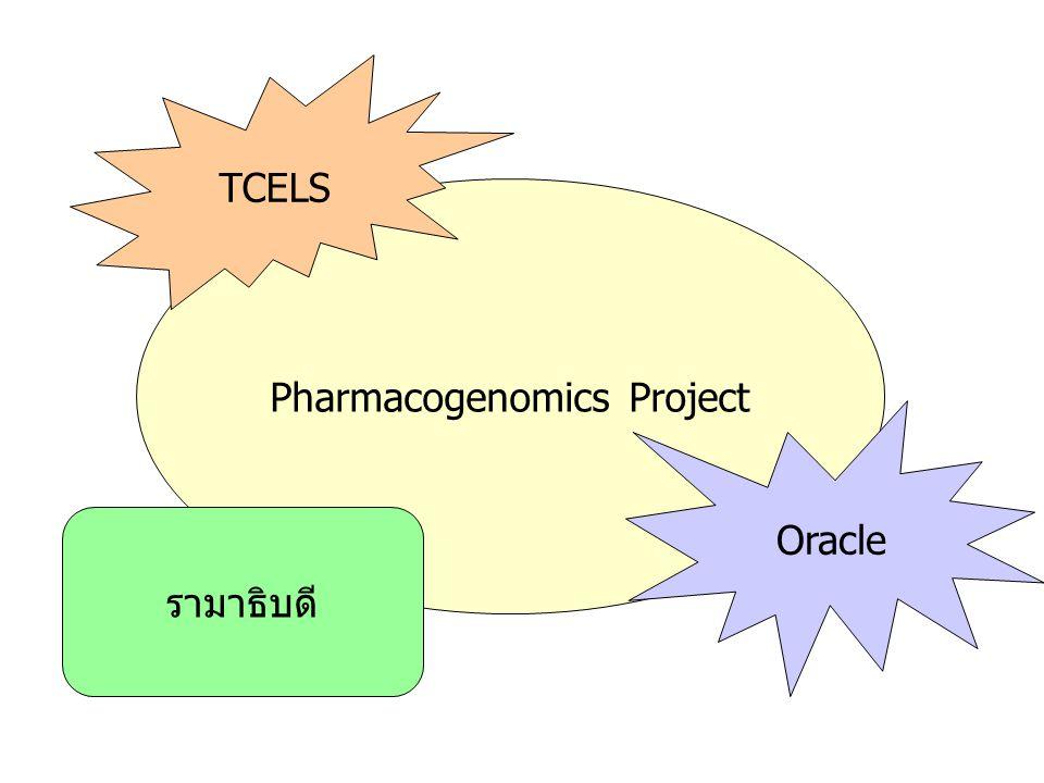 Pharmacogenomics Project TCELS Oracle รามาธิบดี