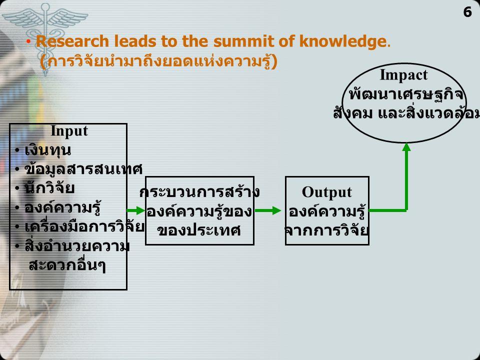 6 เทคนิคการค้นหา (Searching) และคัดชี้ (Identifying) ความเสี่ยง 1.กำหนดตามวัตถุประสงค์ขององค์กรและหน้าที่การงานที่ทำ เช่น ● การดำเนินการวิจัยและพัฒนา....