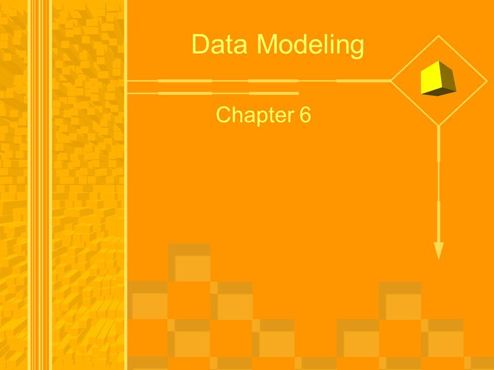Data Modeling Chapter 6