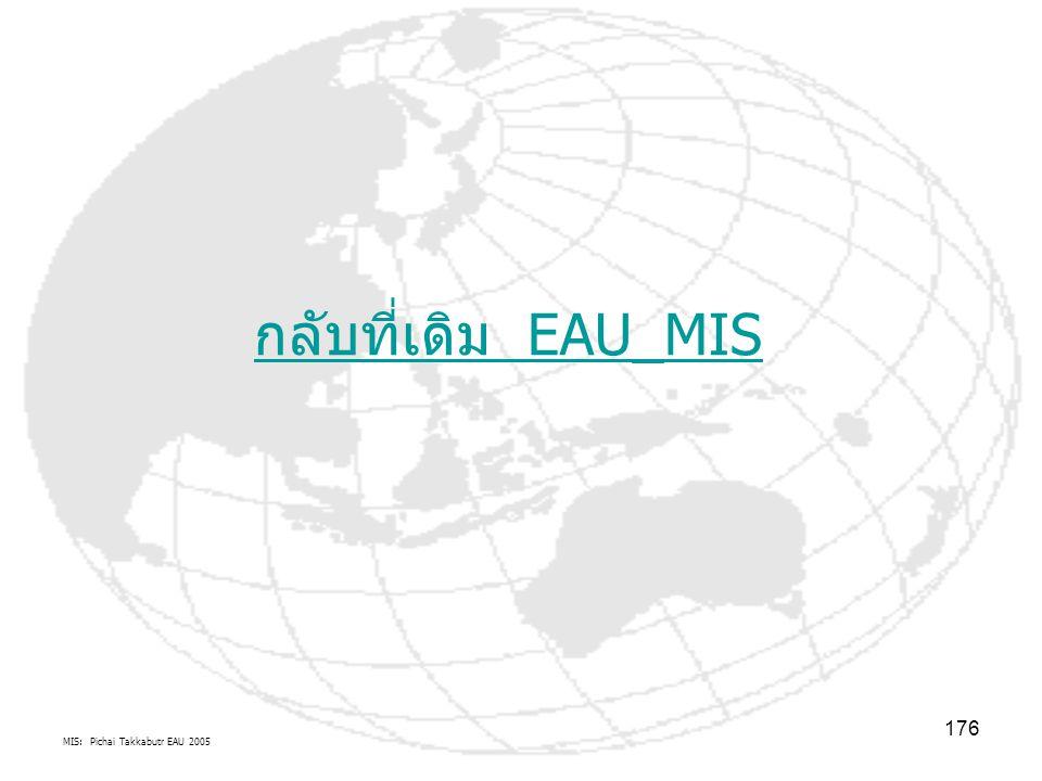 MIS: Pichai Takkabutr EAU 2005 176 กลับที่เดิม EAU_MIS