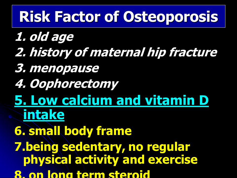 Calcium Supplementation and Bone Benefit