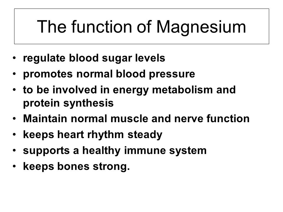 Who may need extra magnesium.Older adults are at increased risk for magnesium deficiency.