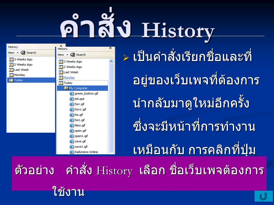 คำสั่ง Encoding  เป็นคำสั่งสำหรับเปลี่ยน Font ให้เว็บเพจ Encoding จะใช้งานก็ ต่อเมื่อภาษาบนเว็บเพจ เป็นภาษาต่างดาว ต้อง เปลี่ยน Font ให้ตรงกับ ตัวหน้าเว็บเพจ ตัวอย่าง คำสั่ง Encoding โดยการใช้เมาส์ในการ เลือก เลือก Font เพื่อปรับหน้าเว็บเพจ ให้ สามารถอ่านข้อมูลใน เว็บเพจได้ เลือก Font เพื่อปรับหน้าเว็บเพจ ให้ สามารถอ่านข้อมูลใน เว็บเพจได้