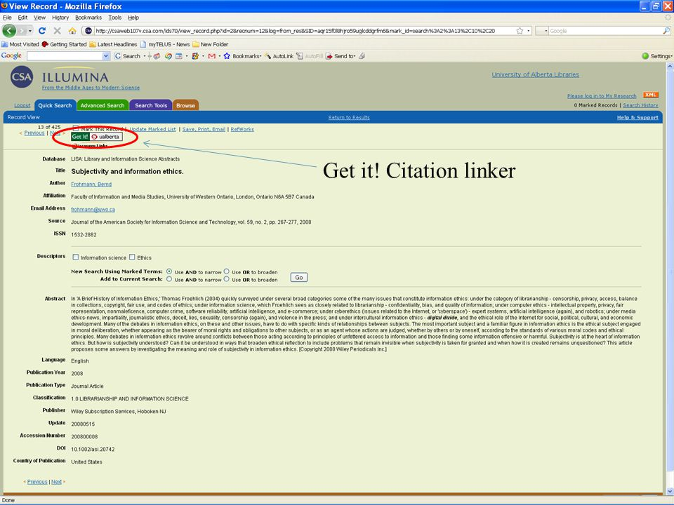 32 Get it! Citation linker