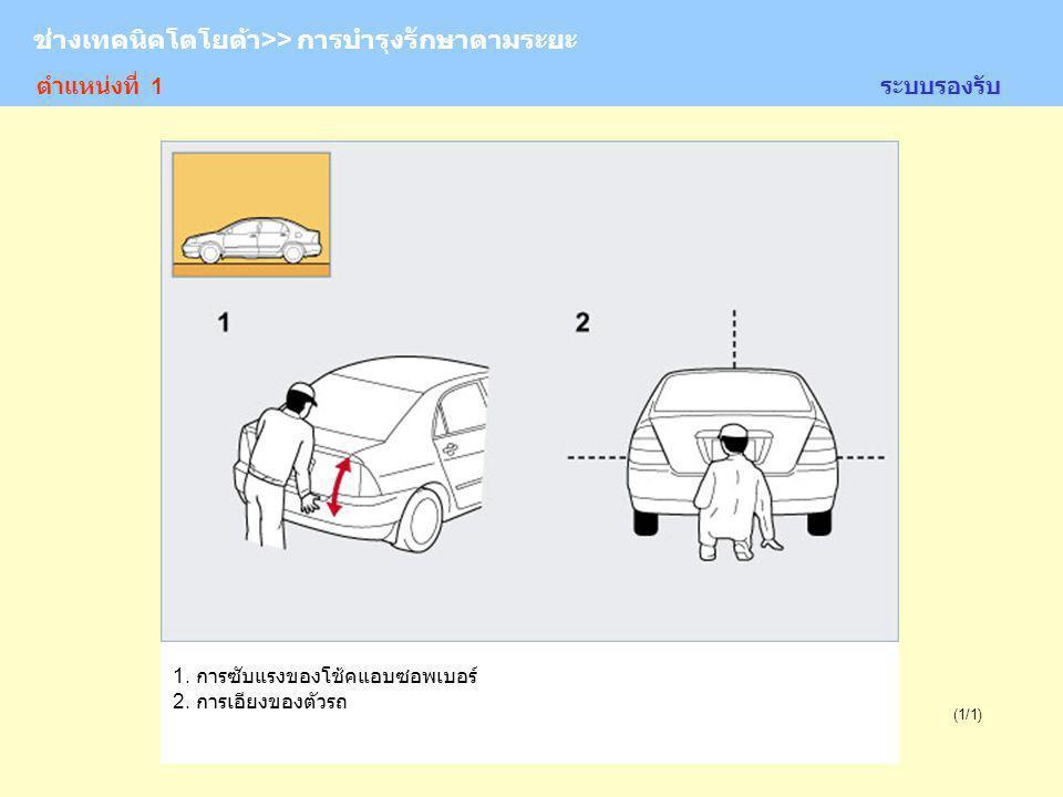 TOYOTA Technician >> Periodic Maintenance (1/1) ระบบไฟ 1.