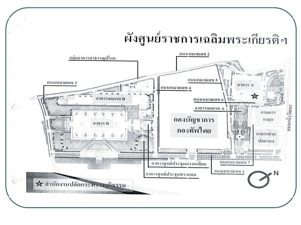 ที่อยู่ ที่อยู่ กลุ่มตรวจสอบภายในระดับกระทรวง ชั้น 9 ศูนย์ราชการเฉลิมพระเกียรติ 80 พรรษา 5 ธันวาคม 2552 อาคารเอ ประตูทิศใต้ เลขที่ 120 หมู่ที่ 3 ถนนแจ้งวัฒนะ แขวงทุ่งสองห้อง เขตหลักสี่ กรุงเทพมหานคร 10210 หมายเลขโทรศัพท์ : 0-2141-5385 หมายเลขโทรสาร : 0-2143-8279 e-mail : ia@moj.go.thia@moj.go.th การเดินทางโดยรถประจำทาง สาย 51, 52, 150, 356 และ ปอ.150