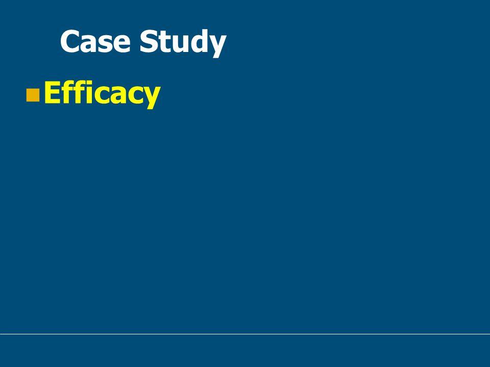 Case Study Efficacy
