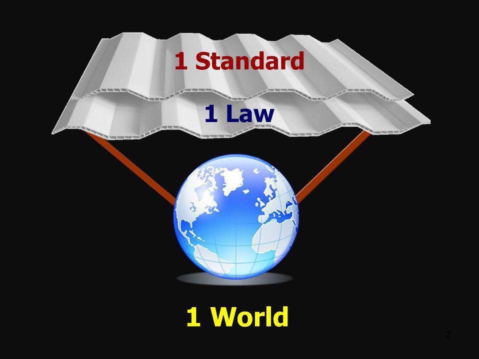 1 Standard 1 Law 1 World 22