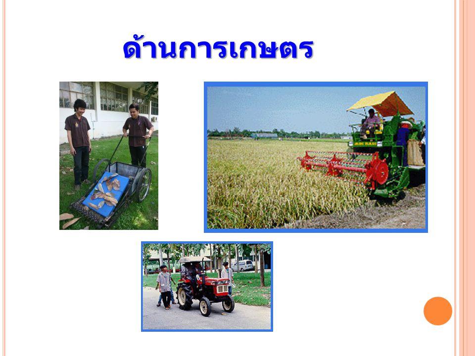 ด้านการเกษตร