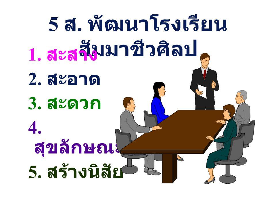 5 ส.พัฒนาโรงเรียน สัมมาชีวศิลป 1.