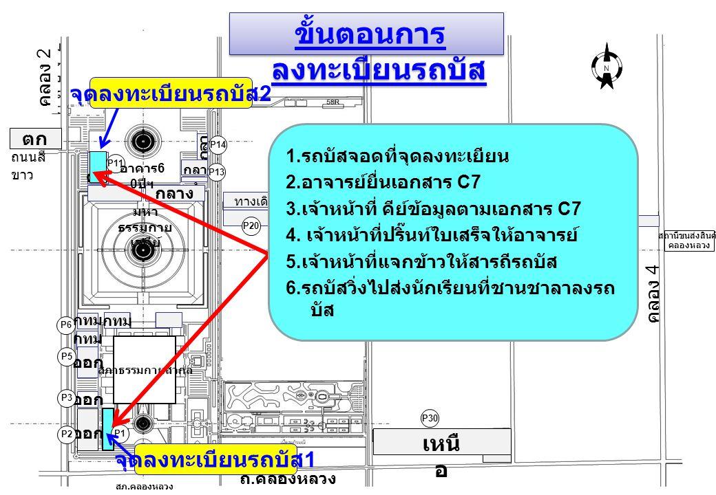 สภาธรรมกายสากล คลอง 3 P1 P13 P32 ถนนสี ขาว P30 กลา ง อีสาน กทม ออก เหนื อ ตก P31 P40 กลาง ตก กลาง ออก P2 P5 P6 P11 ออก P3 P20 กทม.