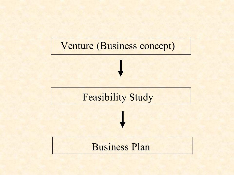 Venture (Business concept) Feasibility Study Business Plan