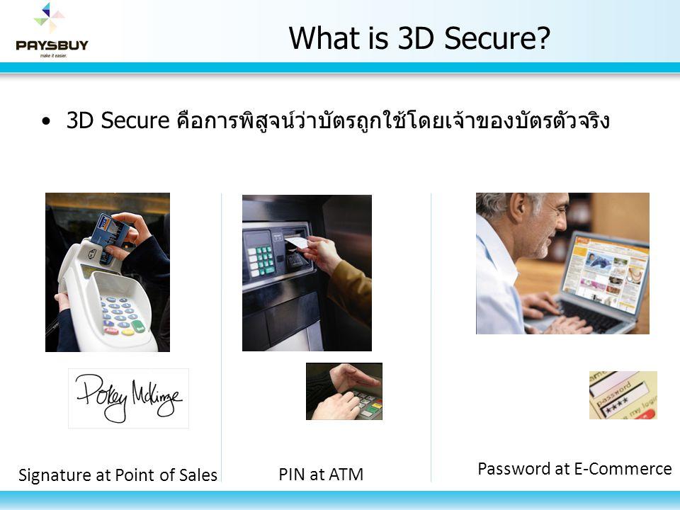 Verify by VISA & Master Card Securecode