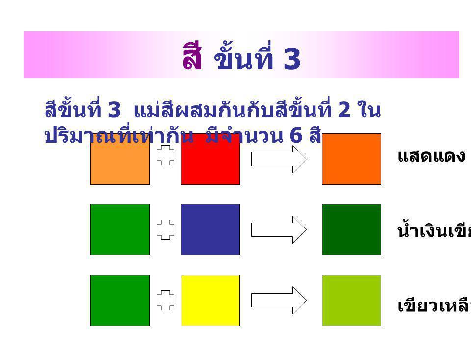 สี 2 วรรณะ สีที่เป็นได้ทั้งสองวรรณะ คือ เหลือง ม่วง