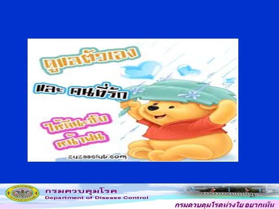กรมควบคุมโรคห่วงใย อยากเห็น คนไทยสุขภาพดี 23