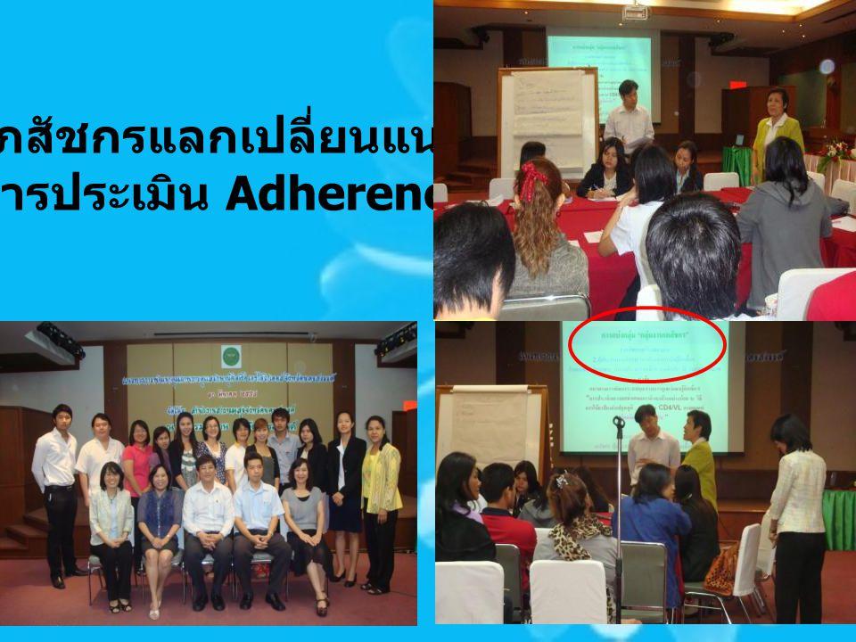 ทีมเภสัชกรแลกเปลี่ยนแนวทาง การประเมิน Adherence