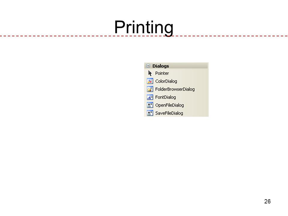 26 Printing