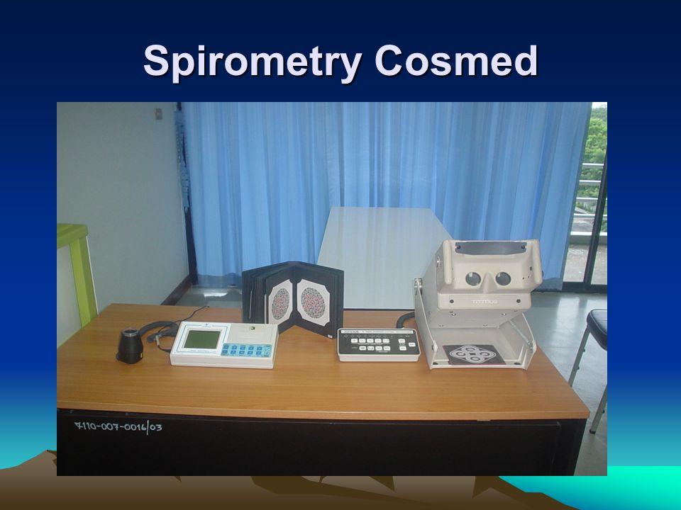 Spirometry Cosmed