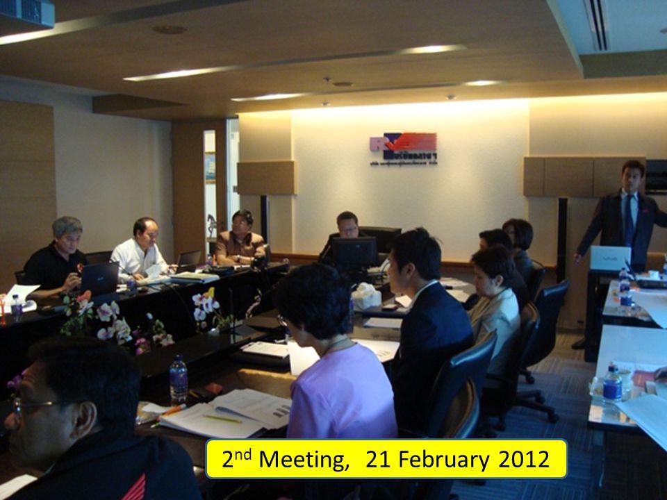 2 nd Meeting, 21 February 2012