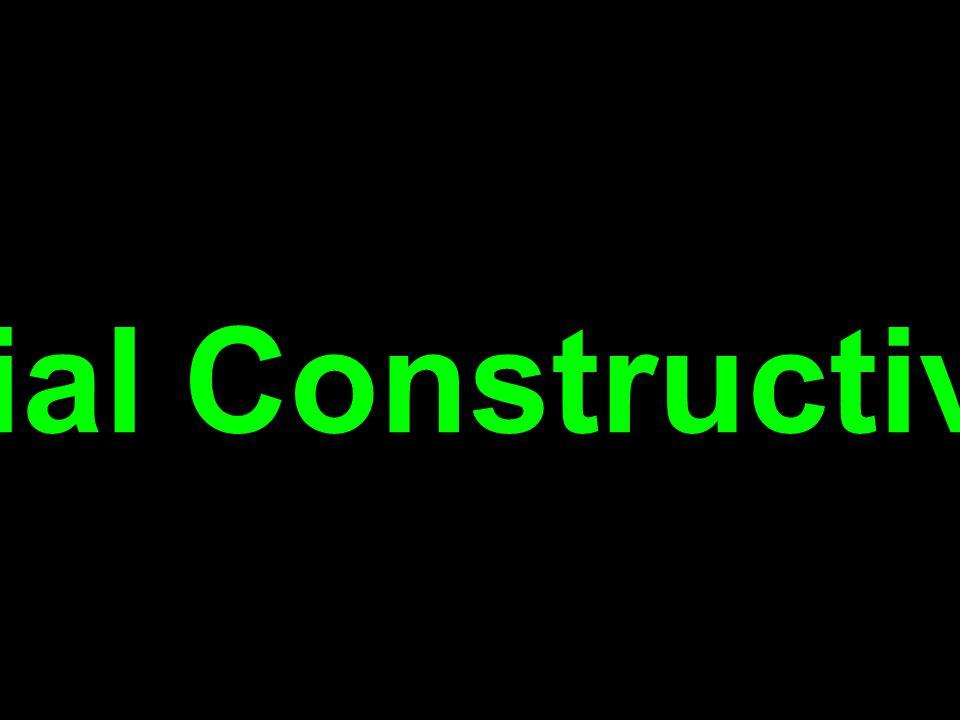 Social Constructivism