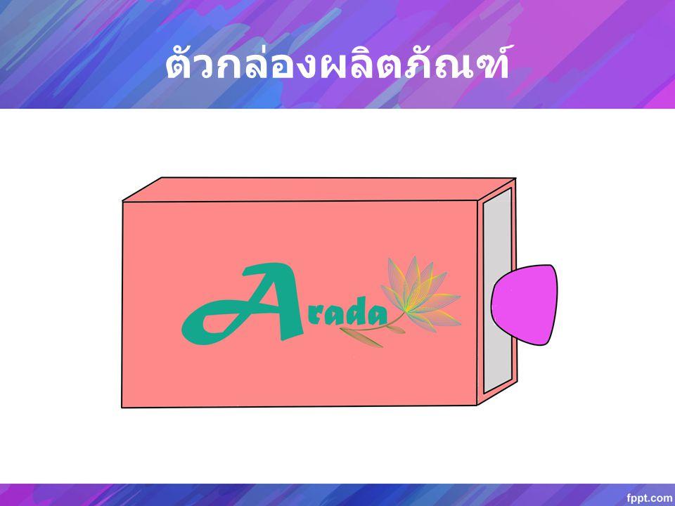 ด้านนอกของกล่องจะหุ้มด้วยผ้าไทยปักชื่อของ แบรนด์ที่ผลิต