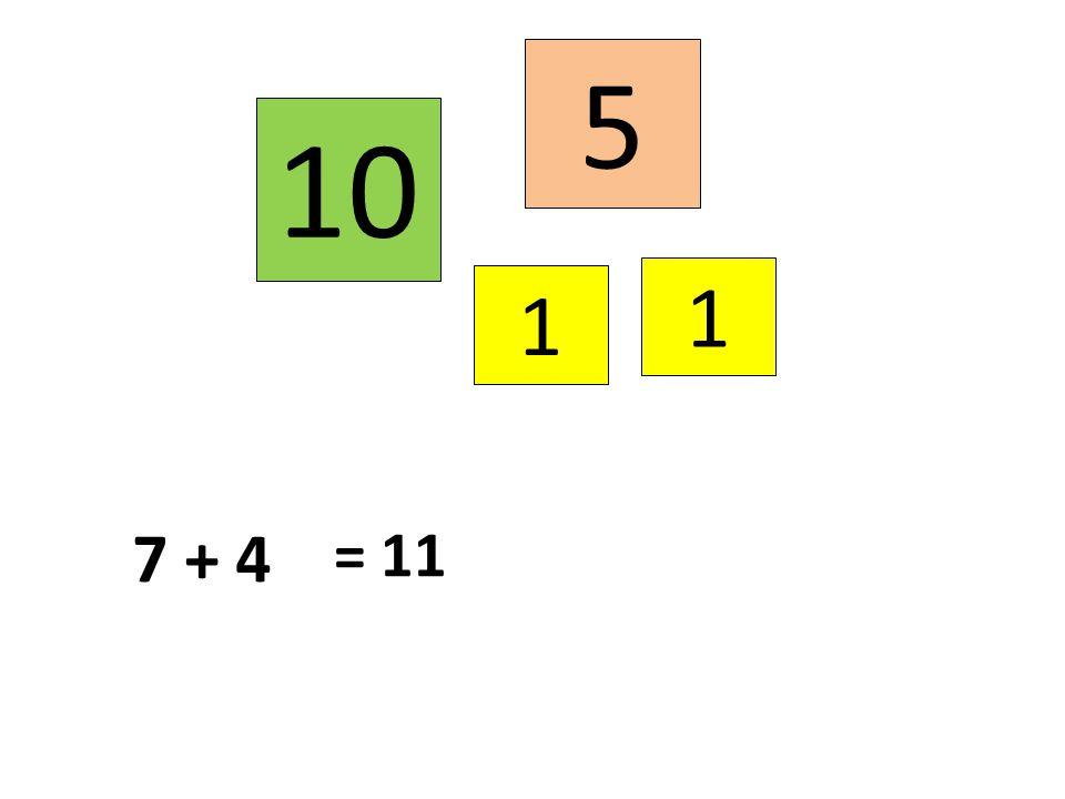 5 1 1 10 = 11