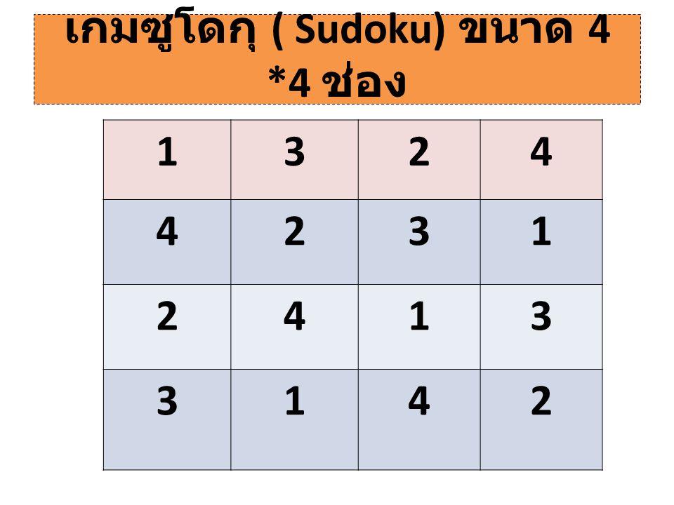 ตาราง 9 ช่อง ( การคูณ ) 6242 3124 18168