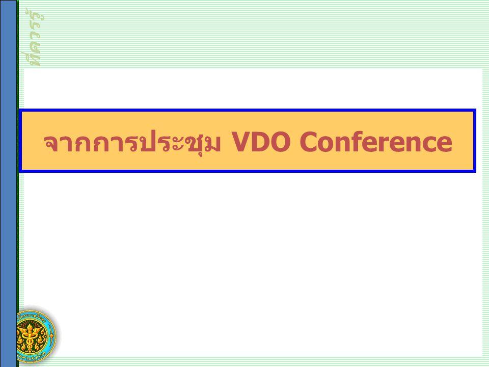 สถิติและการวัดทางระบาดวิทยา ที่ควรรู้ จากการประชุม VDO Conference