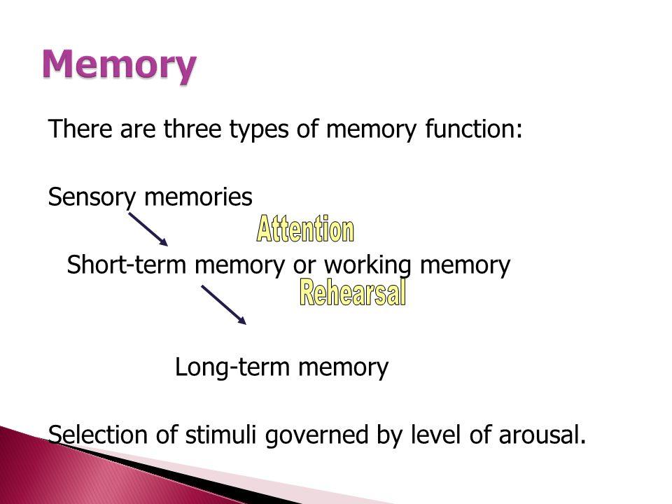  การจดจำที่ติดอยู่กับการรับรู้  เราจะจำสิ่งที่เราเห็น สิ่งที่เราได้ยิน สิ่งที่เราได้กลิ่น เพียง 1/10 ของวินาที  sensory memory จะรับข้อมูลมาจากอวัยวะต่างๆ  Buffers for stimuli received through senses ◦ iconic memory: visual stimuli ◦ echoic memory: aural stimuli ◦ haptic memory: tactile stimuli  Continuously overwritten