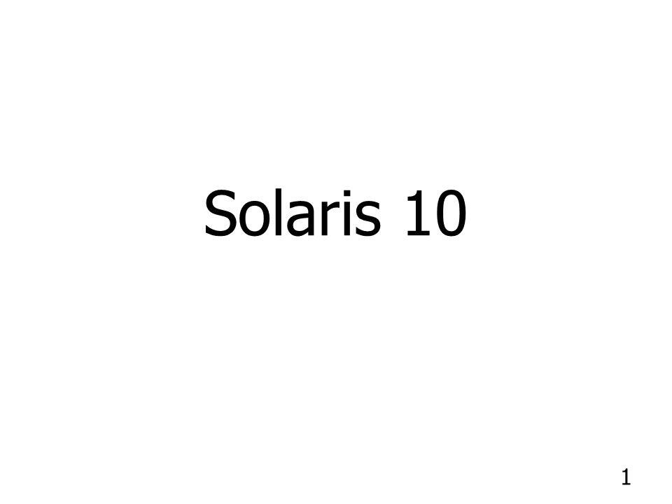 1 Solaris 10