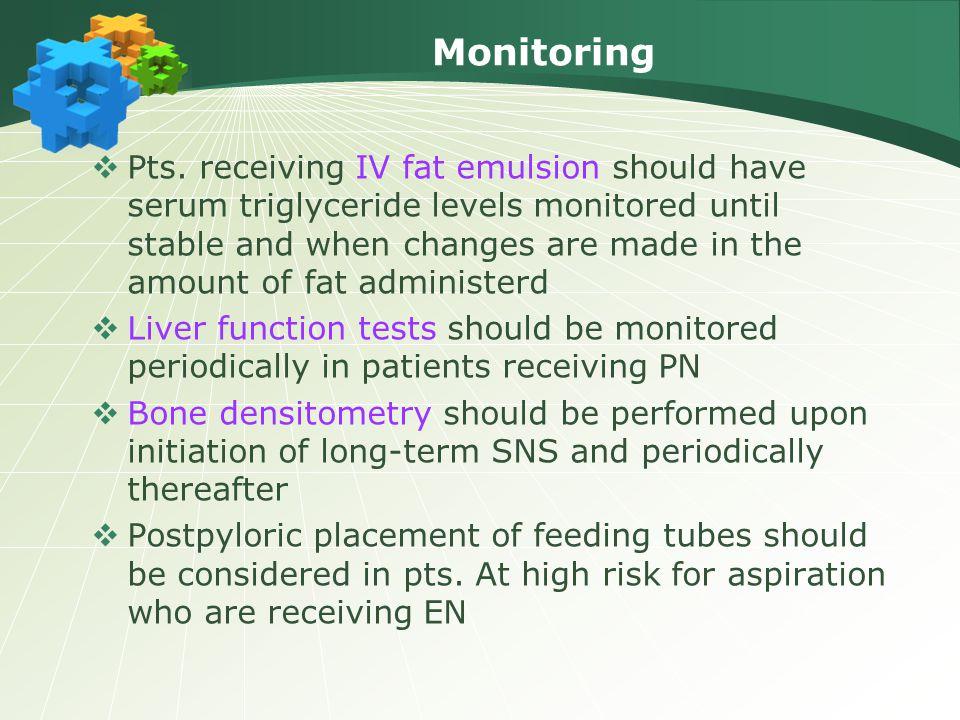 Monitoring  Pts.