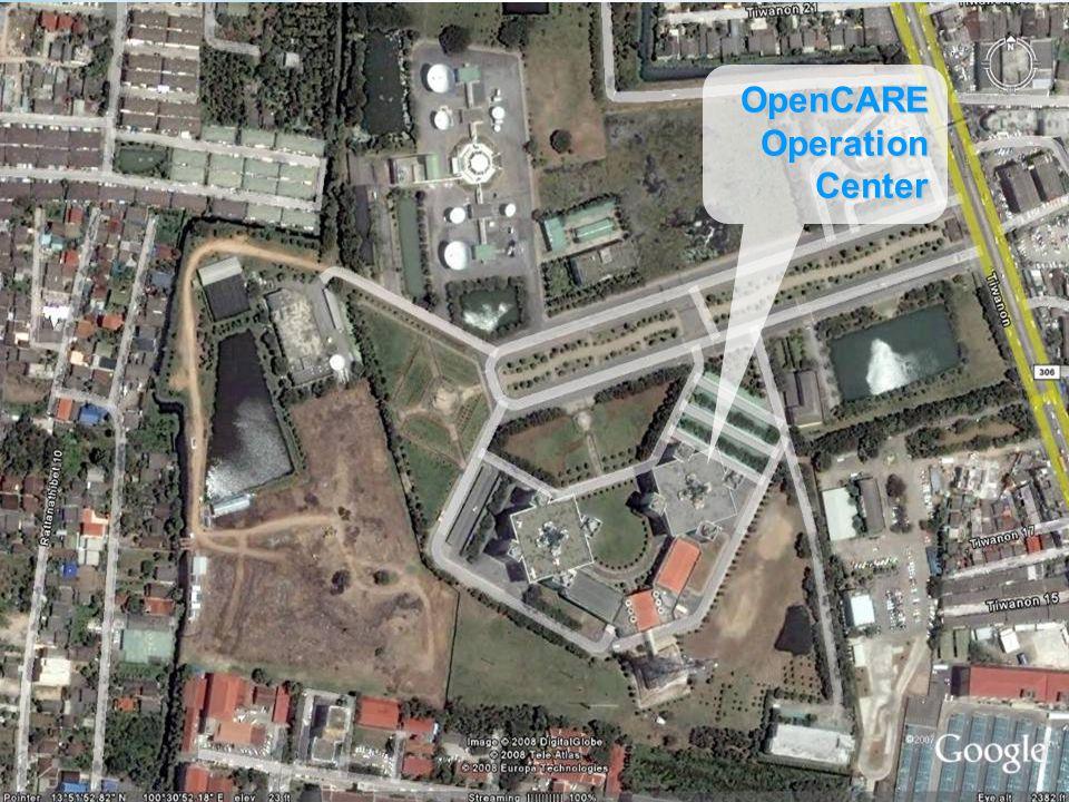 Latitude 13°51 54.12 N Longitude 100°31 1.19 E OpenCAREOperationCenter
