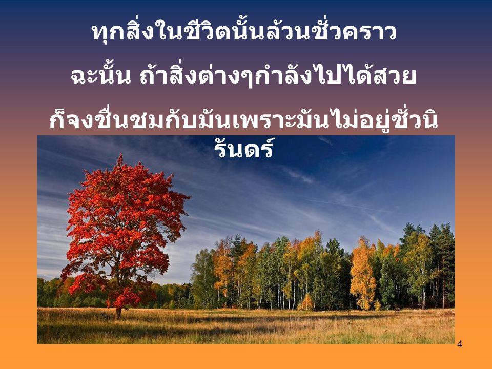 3 ชีวิตสามารถเข้าใจได้เฉพาะเมื่อเราย้อน ดู แต่มันต้องดำเนินอยู่เพื่อมุ่งไปข้างหน้า