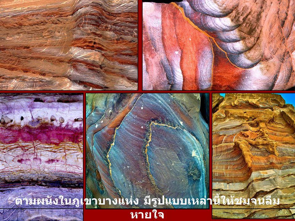 สีในธรรมชาติเหล่านี้ประกอบกันเป็นภาพวาดตาม ธรรมชาติ