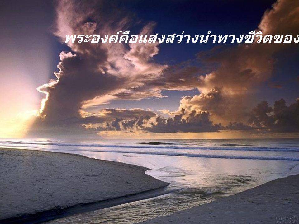 จงวางใจในพระเจ้า ผู้ทรงเป็นแหล่งที่มาและจุดจบของทุกสิ่ง