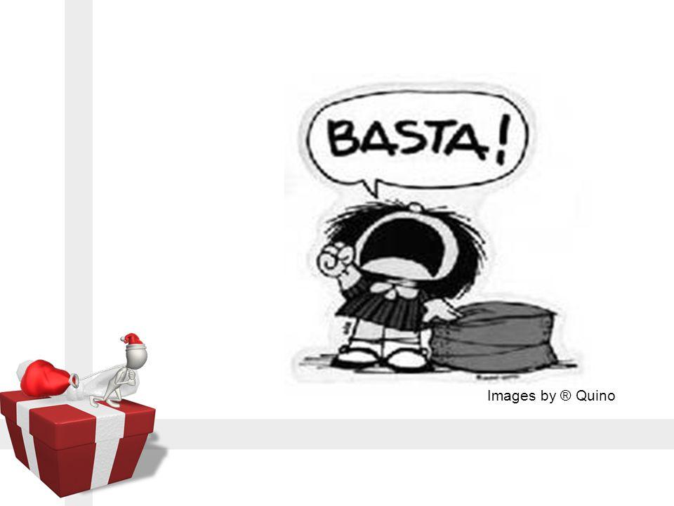 เฮ้อ ! อะไรๆก็ไม่ได้.............. คริสต์มาสและปีใหม่นี้ ไม่มีความหมาย อะไรเลยหรือ............... Images by ® Quino