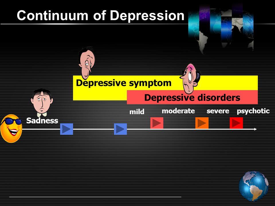 นิยาม ผู้ป่วยโรคซึมเศร้า หมายถึง ประชาชนที่มีอาการสอดคล้องกับ  Depressive Disorders ตามมาตรฐานการจำแนกโรค ระหว่างประเทศขององค์กรอนามัยโลก ฉบับที่10 (ICD– 10) หมวด F32, F33, F34.1, F38, F39 หรือ  Major Depressive Disorder และ Dysthymic Disorder ตามมาตรฐานการจำแนกโรคของสมาคมจิตแพทย์อเมริกัน ฉบับที่4 (DSM-IV)