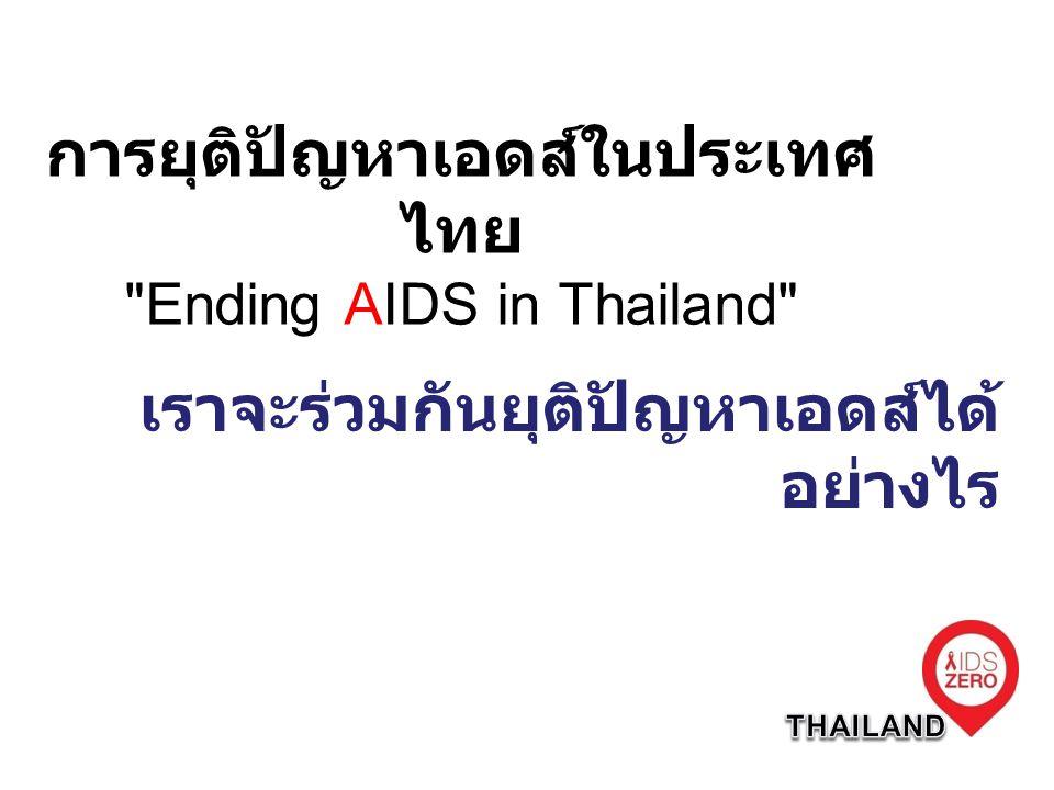 การยุติปัญหาเอดส์ในประเทศ ไทย