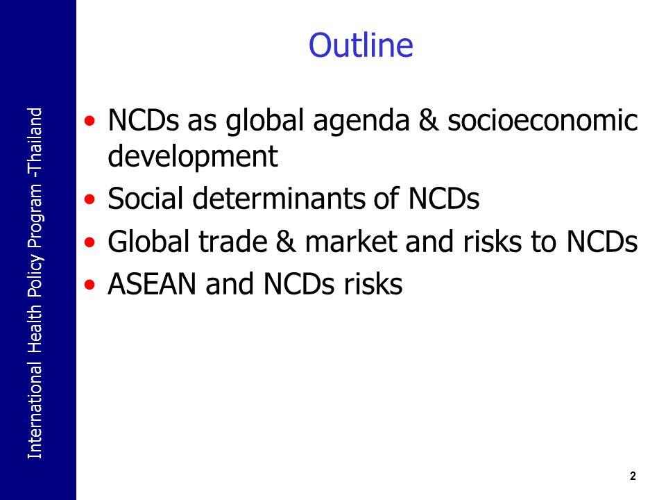 International Health Policy Program -Thailand 23 ผลกระทบของการค้าเสรีต่อสินค้าและบริการ :กรณีศึกษา เหล้า บุหรี่ อาหาร