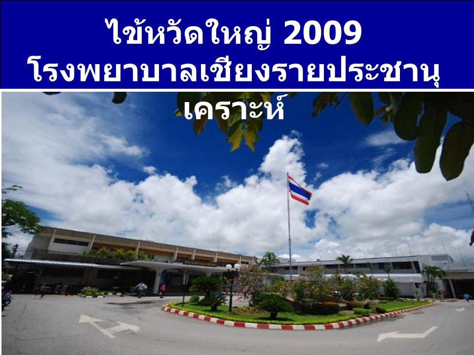 ไข้หวัดใหญ่ 2009 โรงพยาบาลเชียงรายประชานุ เคราะห์