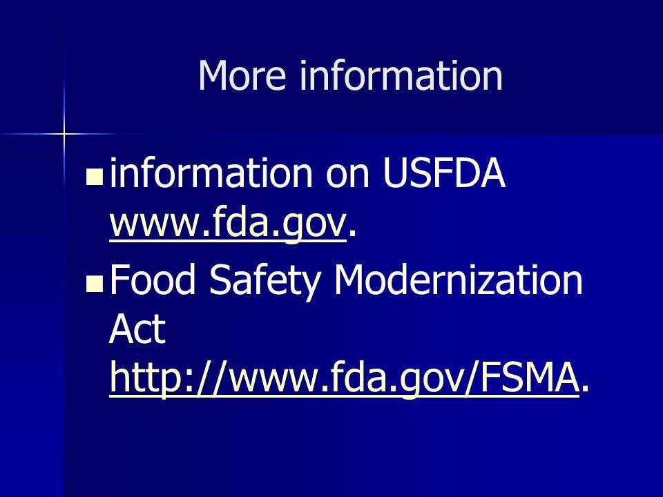 Investigations Operations Manual (IOM) เก็บข้อมูล การศึกษาหาอุณหภูมิและเวลาฆ่าเชื้อ Critical Factor น้ำหนักการบรรจุ (Fill Weight) สูตรมีการเปลี่ยนแปลง ตรวจสอบวัตถุดิบ หรือผลิตภัณฑ์ สำเร็จรูป Bioterrorism