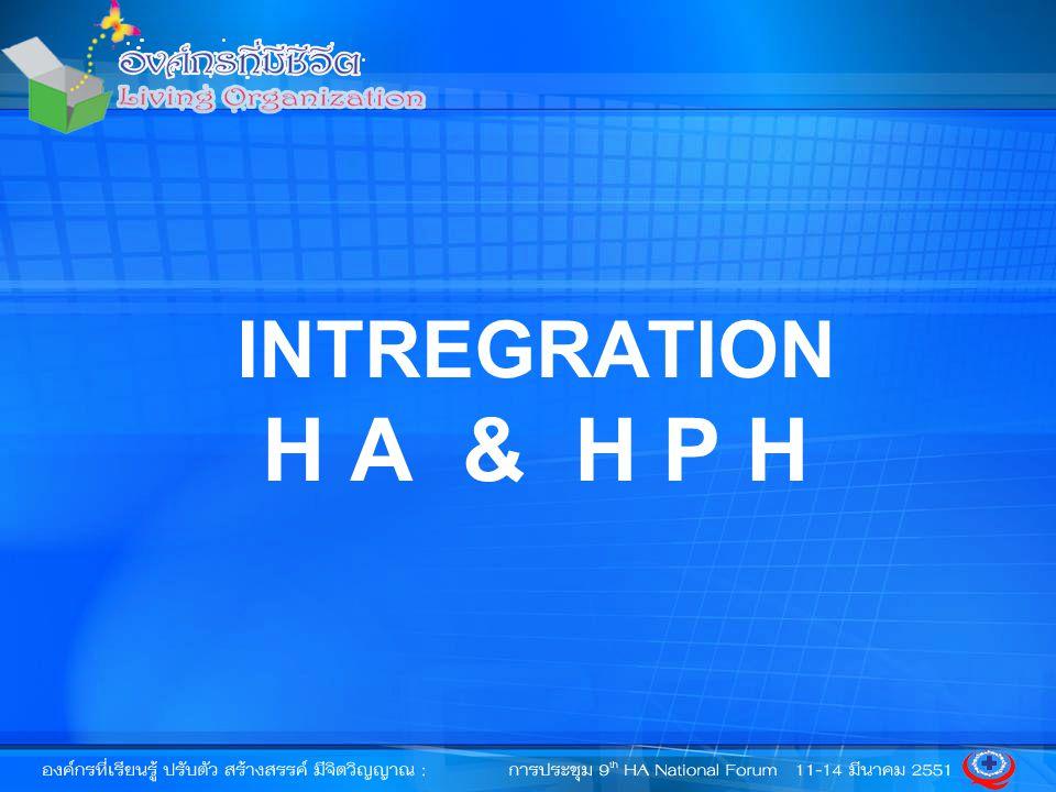 HA HPH HPH การลงมือทำ การเพิ่มคุณค่า