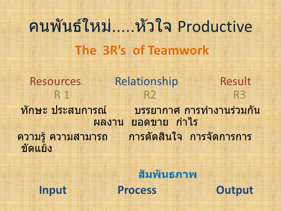 Structure/Differentiation ภาระกิจ Overlapping Interdependent