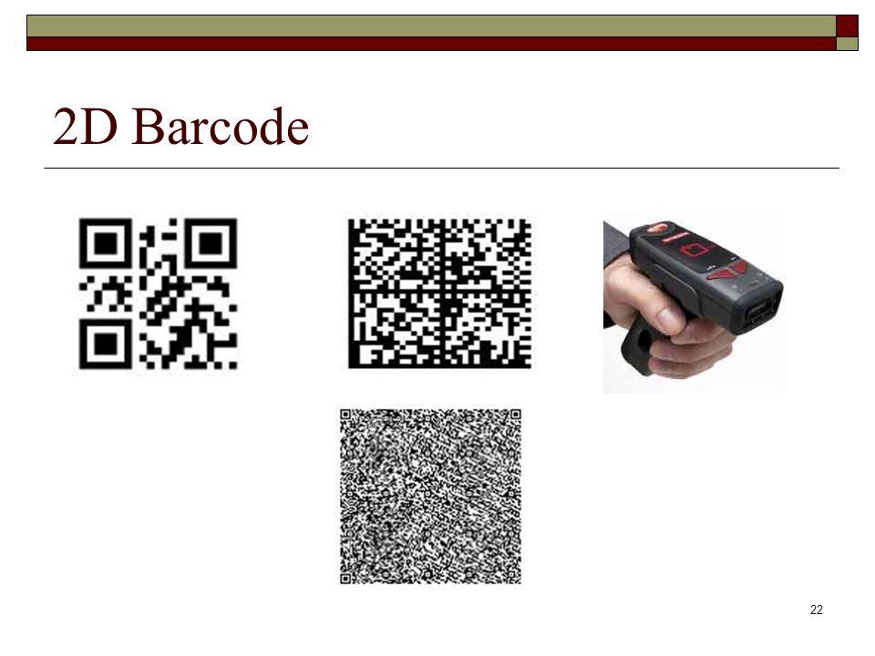 22 2D Barcode