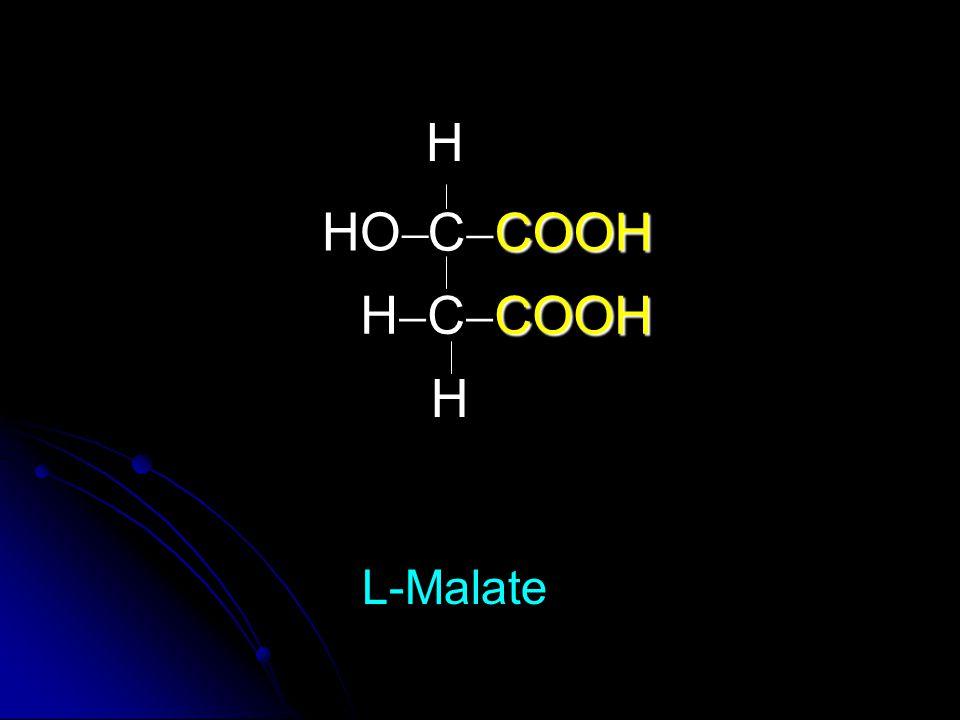 COOH C  COOH COOH H  C  COOH HO  L-Malate H H