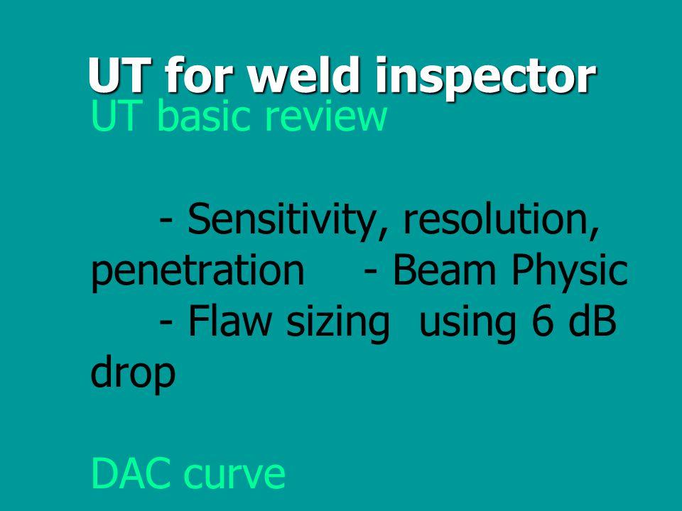 การตรวจสอบในงานเชื่อมมี 3 ขั้นตอน - การตรวจสอบโลหะชิ้นงาน - การตรวจสอบฐาน root - การตรวจสอบเนื้อของแนว เชื่อม (weld body)