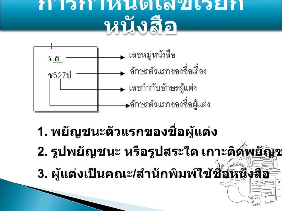 1 2 3. 4 5 6 หมวดใหญ่ (Classes) หมู่ย่อย (Section) หมวดย่อย (Division) จุดทศนิยม